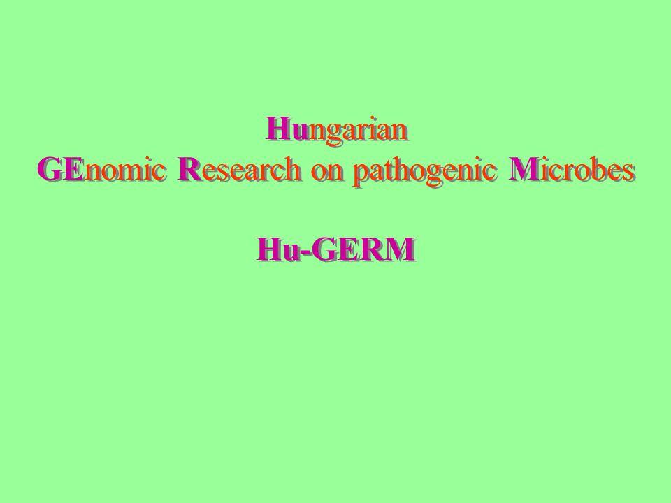 Hungarian GEnomic Research on pathogenic Microbes Hu-GERM