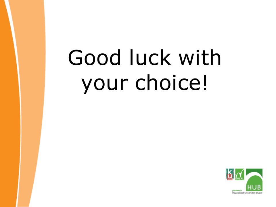 Good luck with your choice!