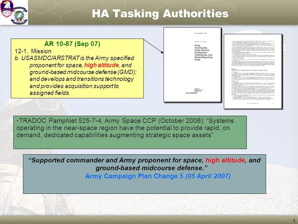 14 PoC Initial HA Requirements