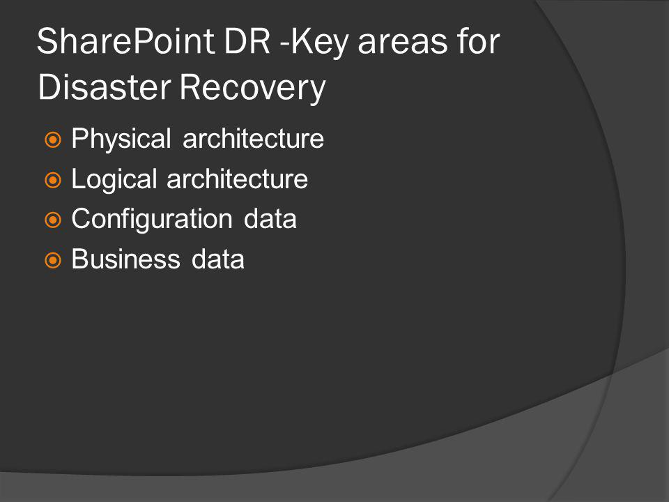 Some considerations  Latency less than 1 millisecond  Database recovery model: Full  Database permissions: same rights  Network bandwidth  More mirrored databases consume more threads = more logical processors
