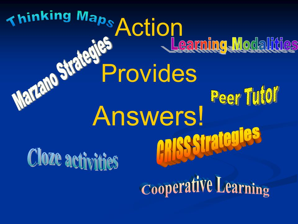 Adapted from Getting Excited About Data, Edie Holcomb www.corwinpress.com What question are we trying to answer? What can we tell from the data? What