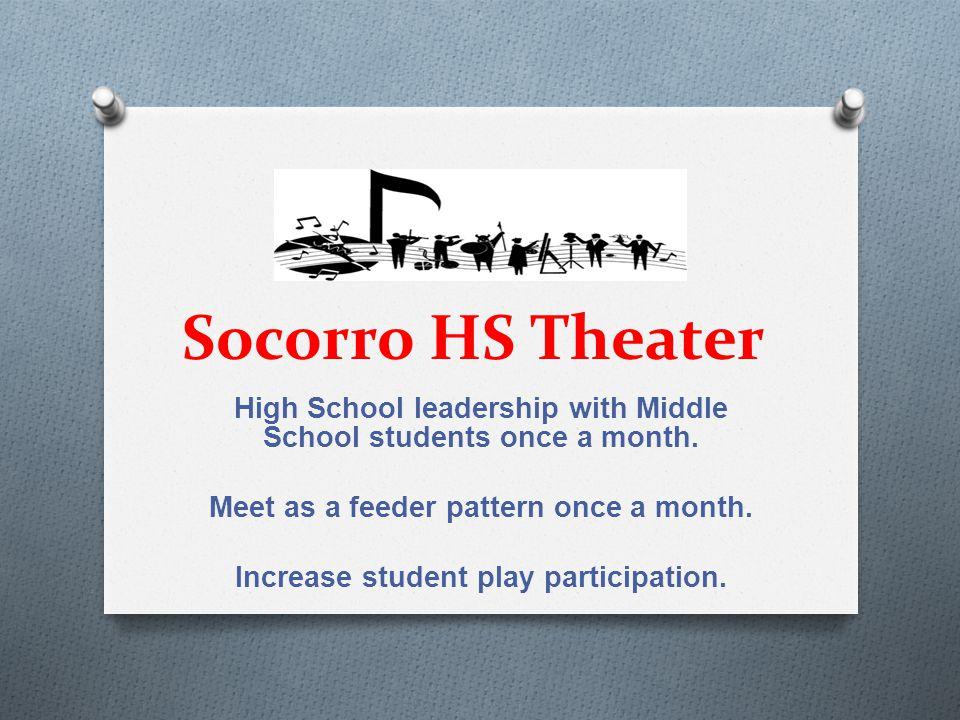Socorro HS Art Increase student entries at SISD Art Show, Community College, & El Paso County Art Show.