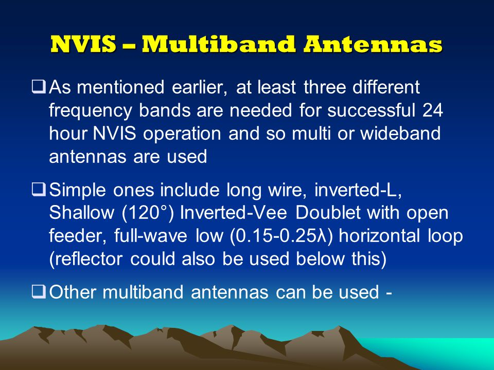 NVIS – The G8ATH IIDM Antenna