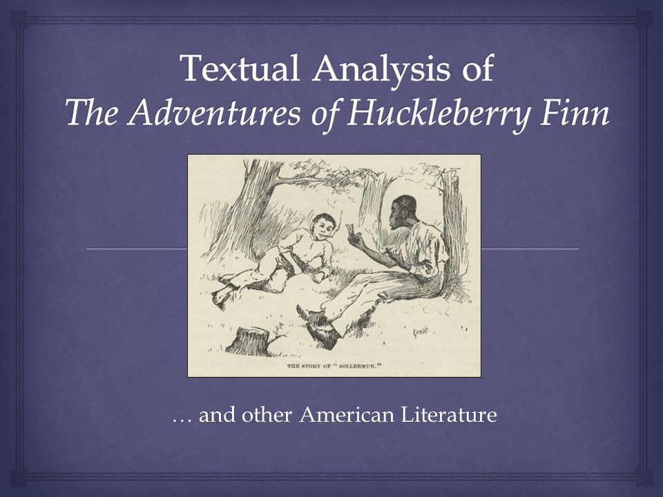 … and other American Literature