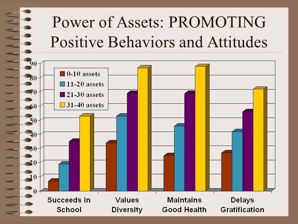 Power of Assets: PROMOTING Positive Behaviors and Attitudes