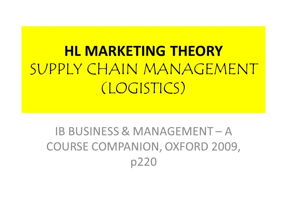 SUPPLY CHAIN MANAGEMENT Businesses will want to try to maximize the efficiency of their supply chains in order to reduce the cost and time that it takes to get products from raw materials stage to final point of sale to the consumer.