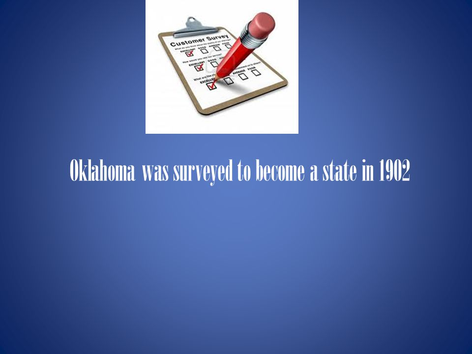 When was Oklahoma Accepted into the United States