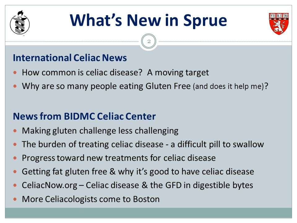 What's New in Sprue International Celiac News How common is celiac disease? A moving target Why are so many people eating Gluten Free (and does it hel