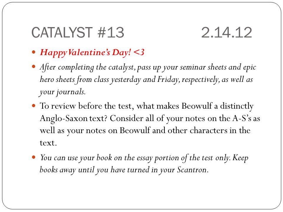 CATALYST #132.14.12 Happy Valentine's Day.