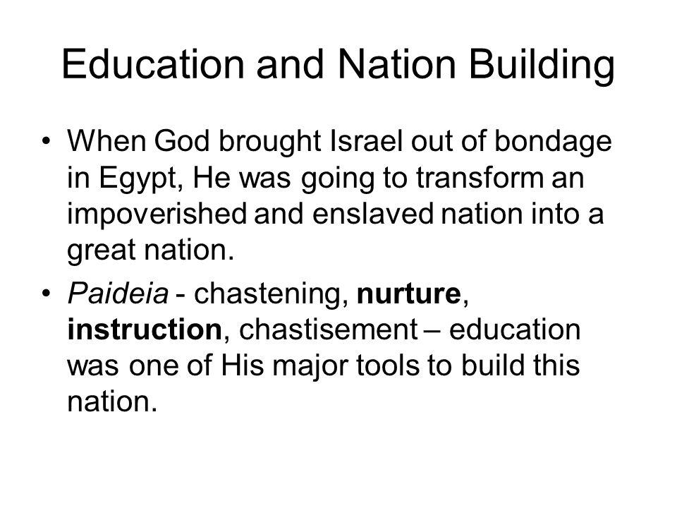 Nation Building Deut.