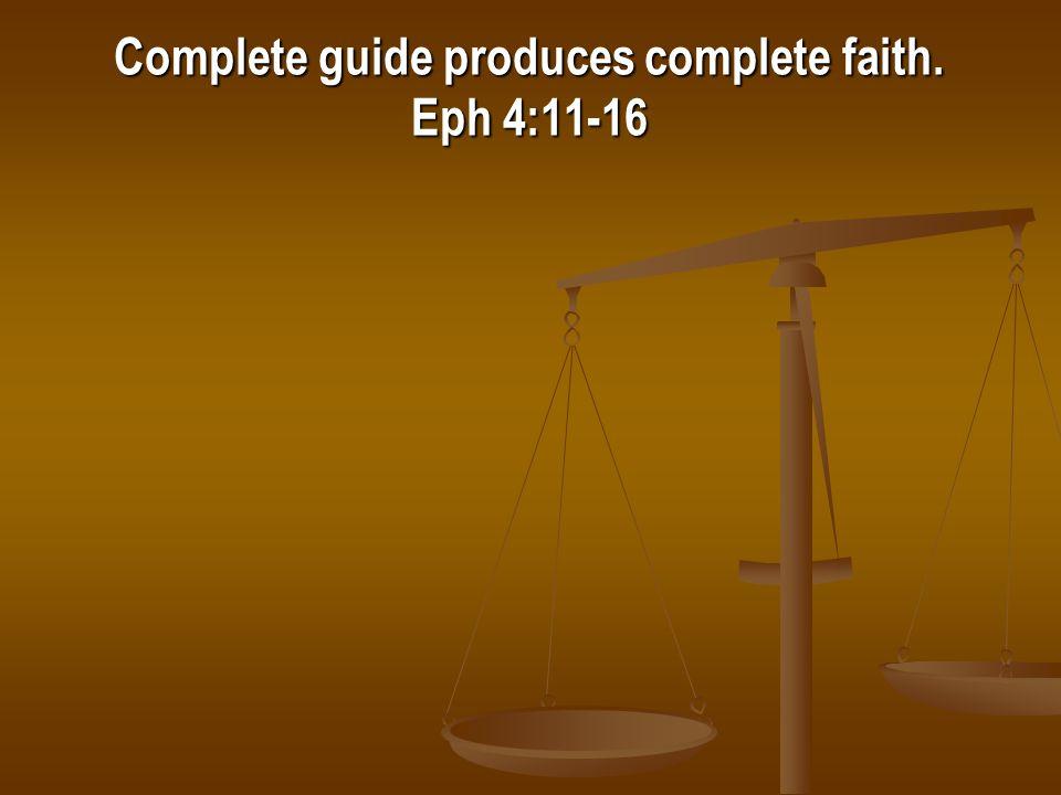 Our Sufficient Guide 2 Tim 3:16-17 1 Cor 10:13 Gal 1:6-9 2 John 9 Rev 22:18-19 Matt 15:1-14