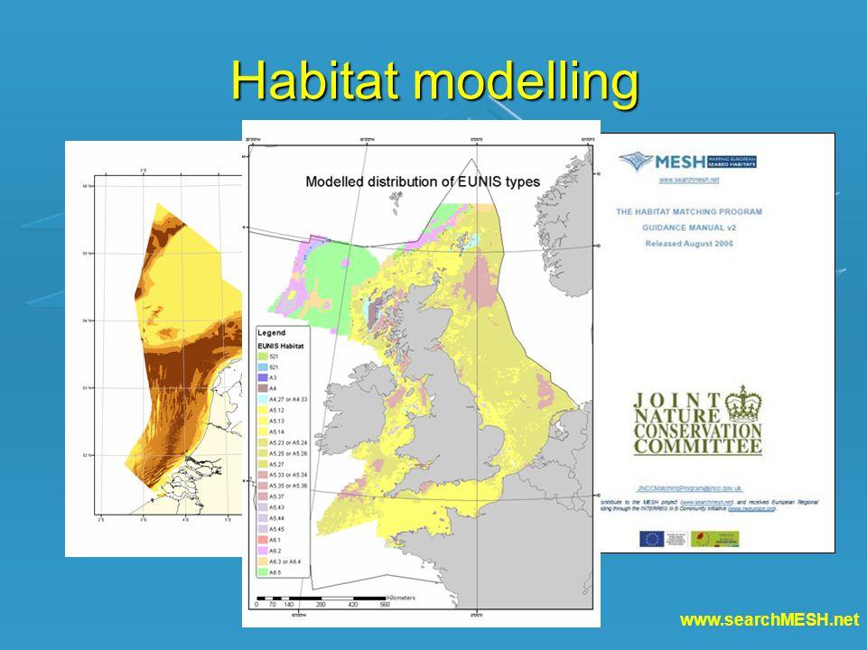 www.searchMESH.net Habitat modelling