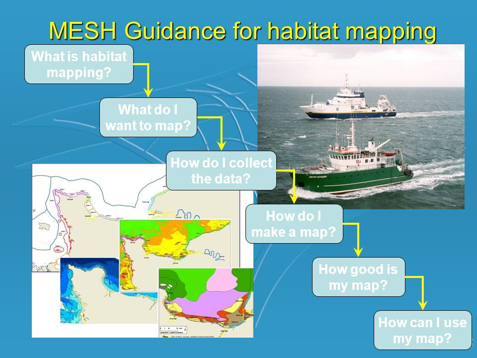 www.searchMESH.net MESH Guidance for habitat mapping What is habitat mapping.