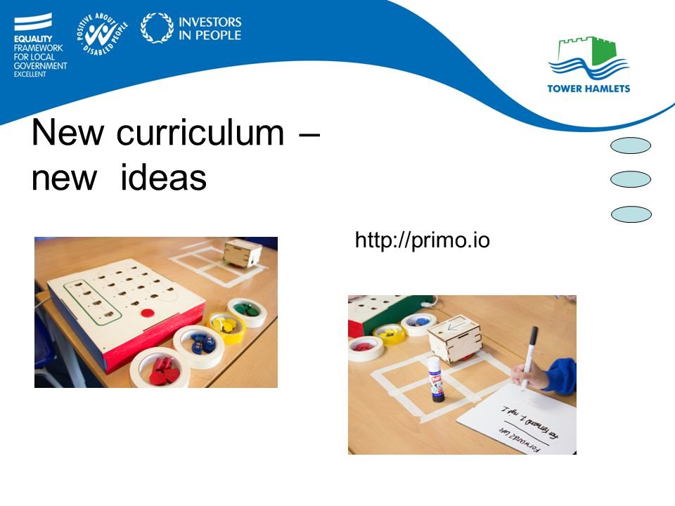 New curriculum – new ideas http://primo.io