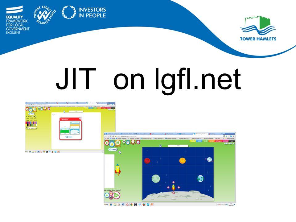 JIT on lgfl.net