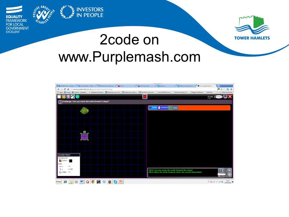 2code on www.Purplemash.com