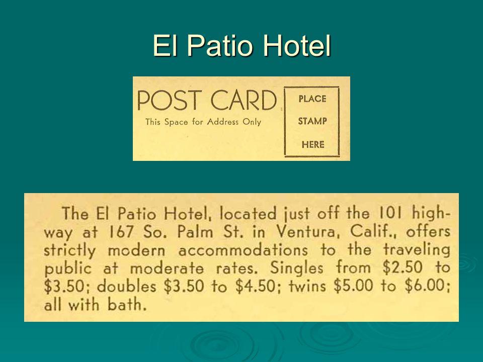 El Patio Hotel