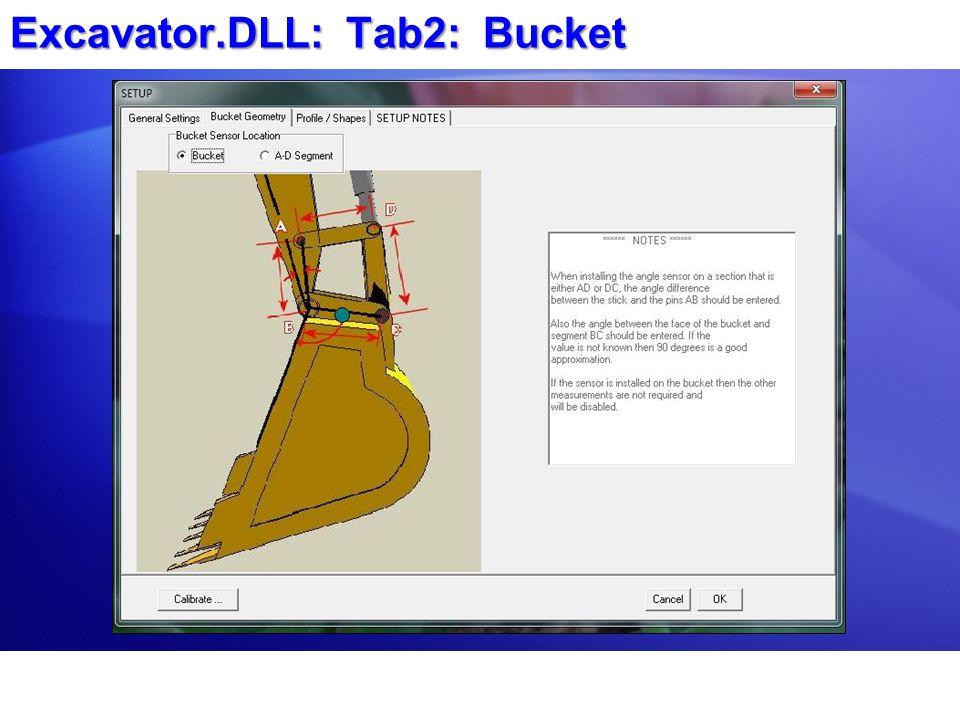 Excavator.DLL: Tab2: Bucket