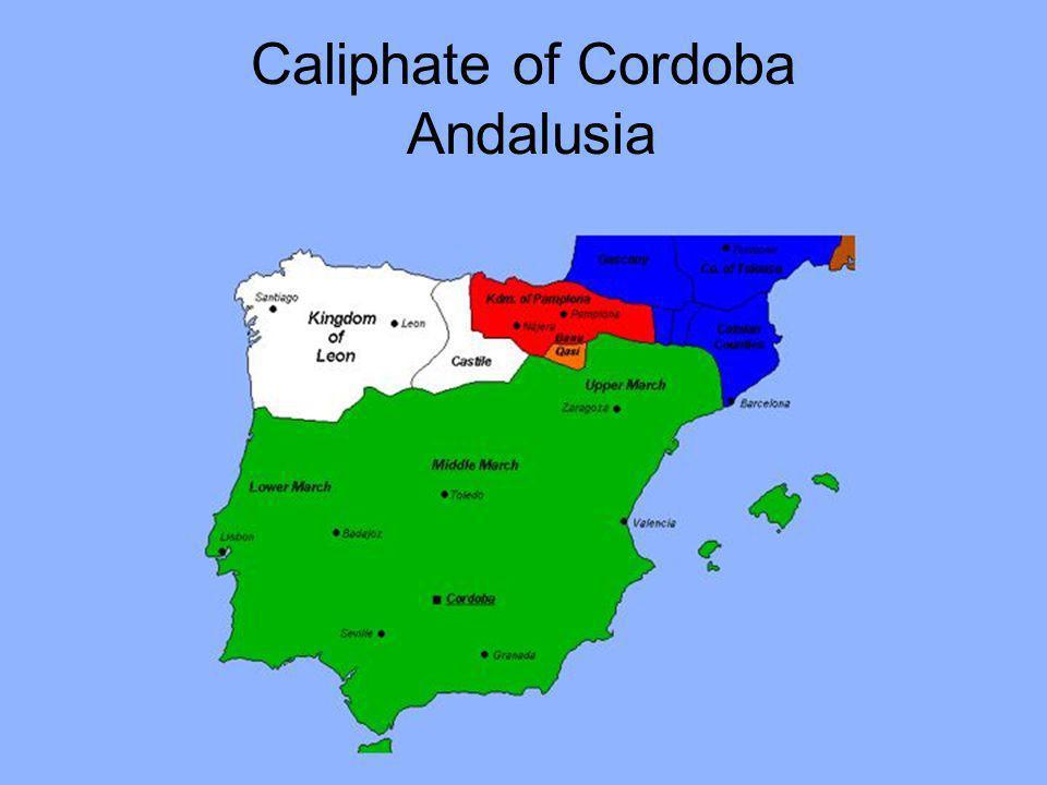 Caliphate of Cordoba Andalusia