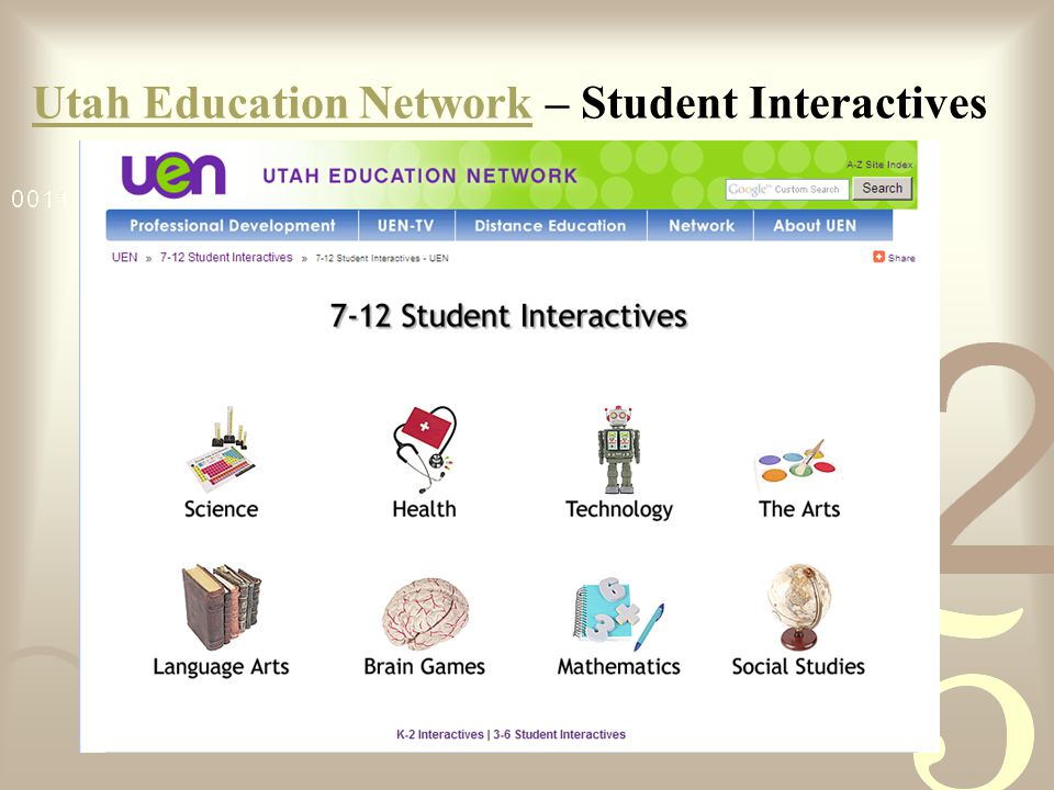 Utah Education NetworkUtah Education Network – Student Interactives