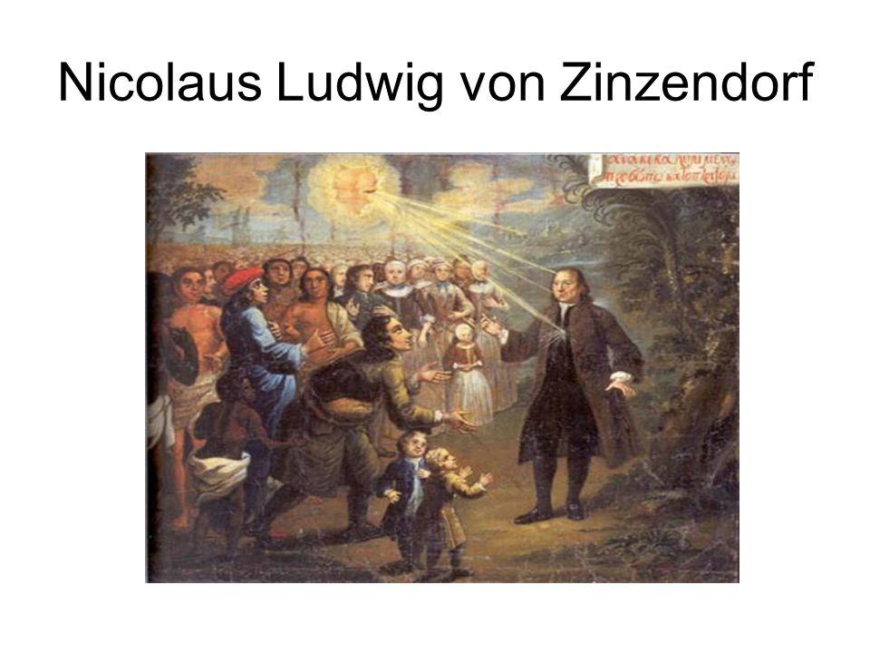 Nicolaus Ludwig von Zinzendorf