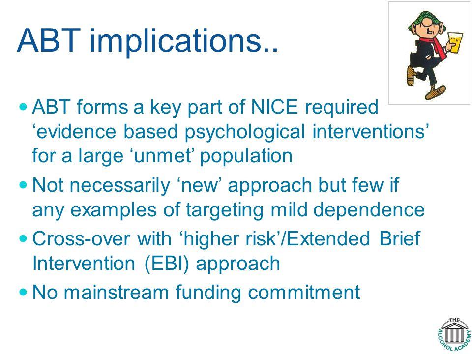 ABT implications..
