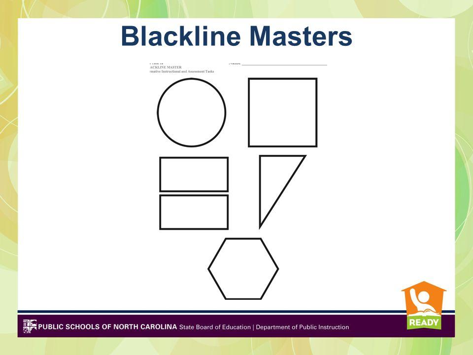 Blackline Masters