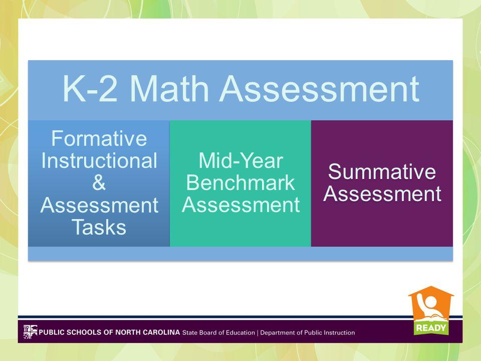 K-2 Formative Instructional & Assessment Tasks