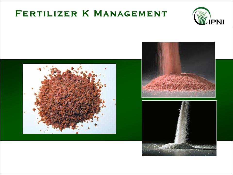 Fertilizer K Management