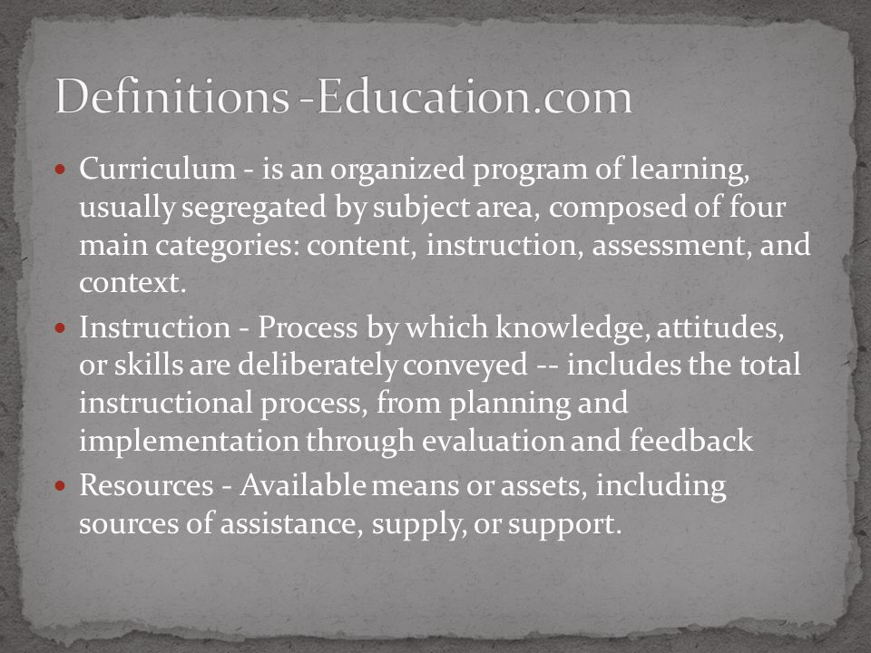 K-12 CurriculumInstructionResources Multi- Grade Input Feb./ March April/May May – Aug.