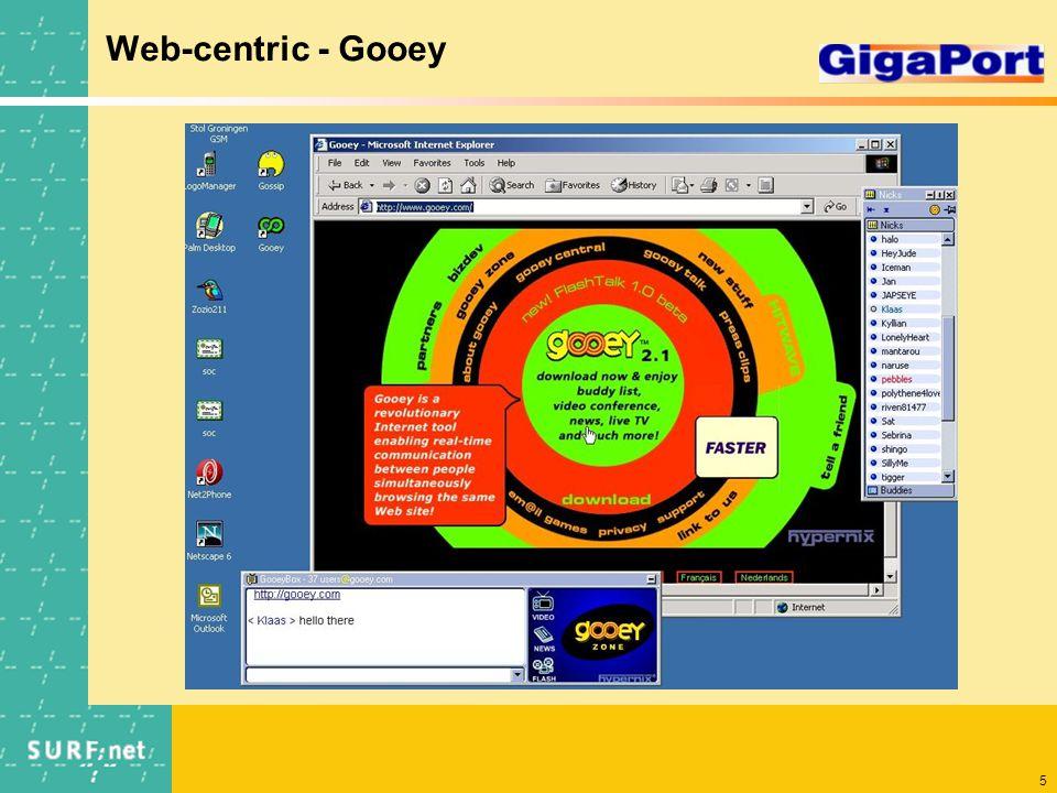 5 Web-centric - Gooey