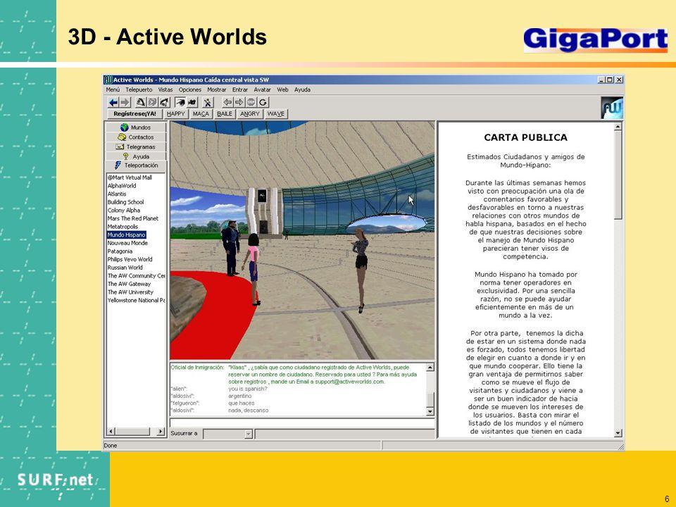 6 3D - Active Worlds