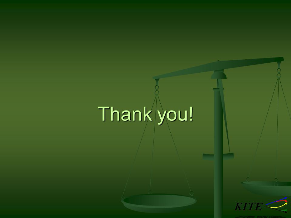 Thank you! ….innovating energy solutions….