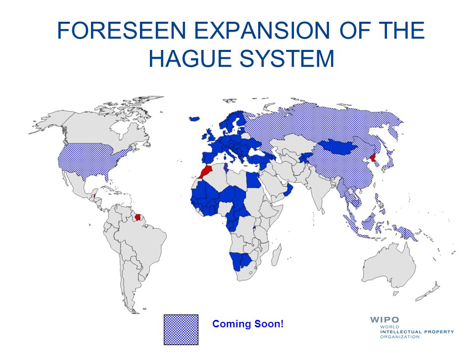 FORESEEN EXPANSION OF THE HAGUE SYSTEM Coming Soon!