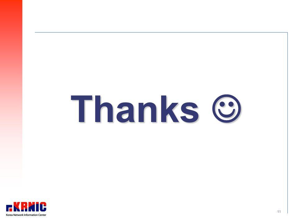 11 Thanks Thanks