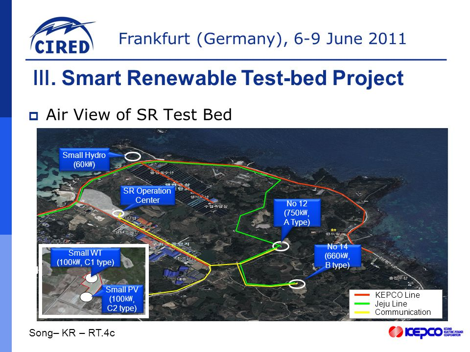 Frankfurt (Germany), 6-9 June 2011  Air View of SR Test Bed Ⅲ.
