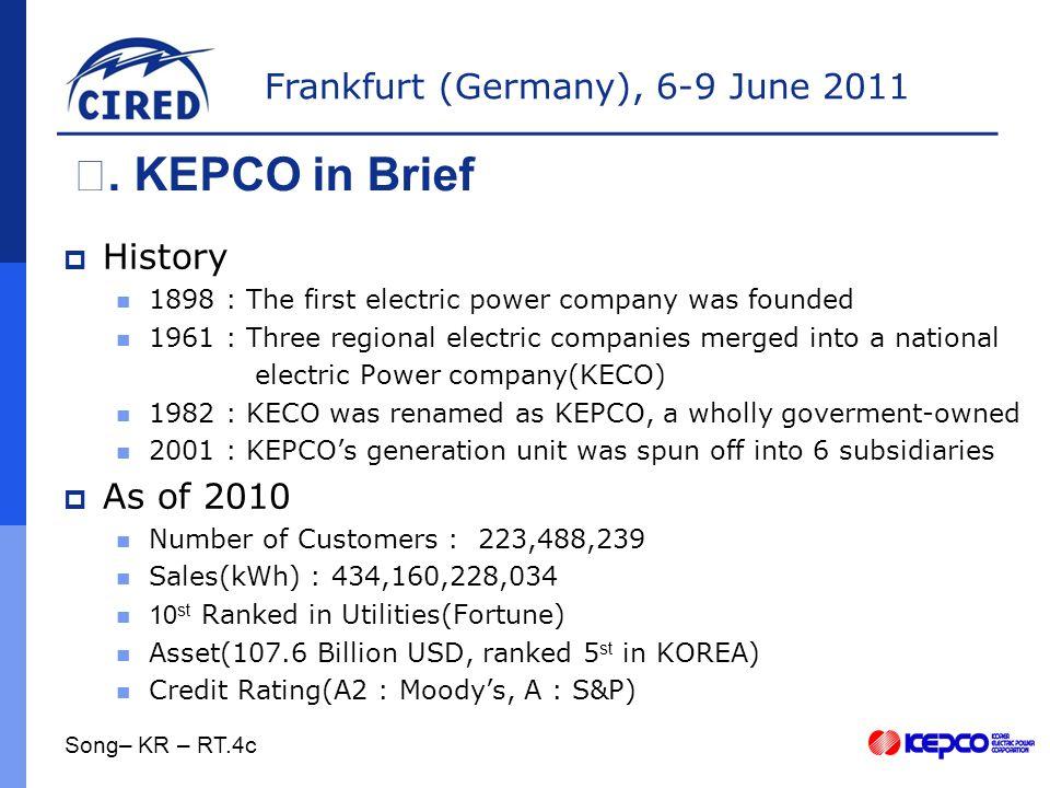 Frankfurt (Germany), 6-9 June 2011  Future Plans Ⅲ.