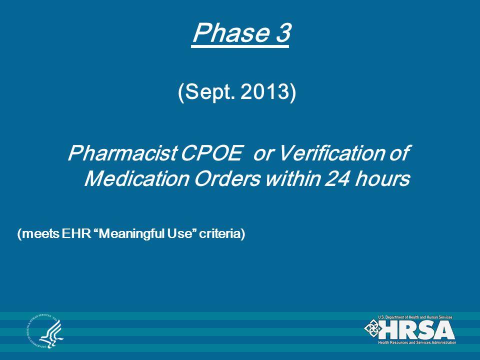 Phase 3 (Sept.