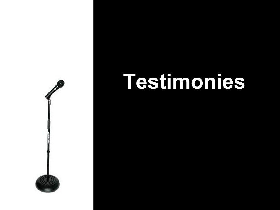 Testimonies Historic