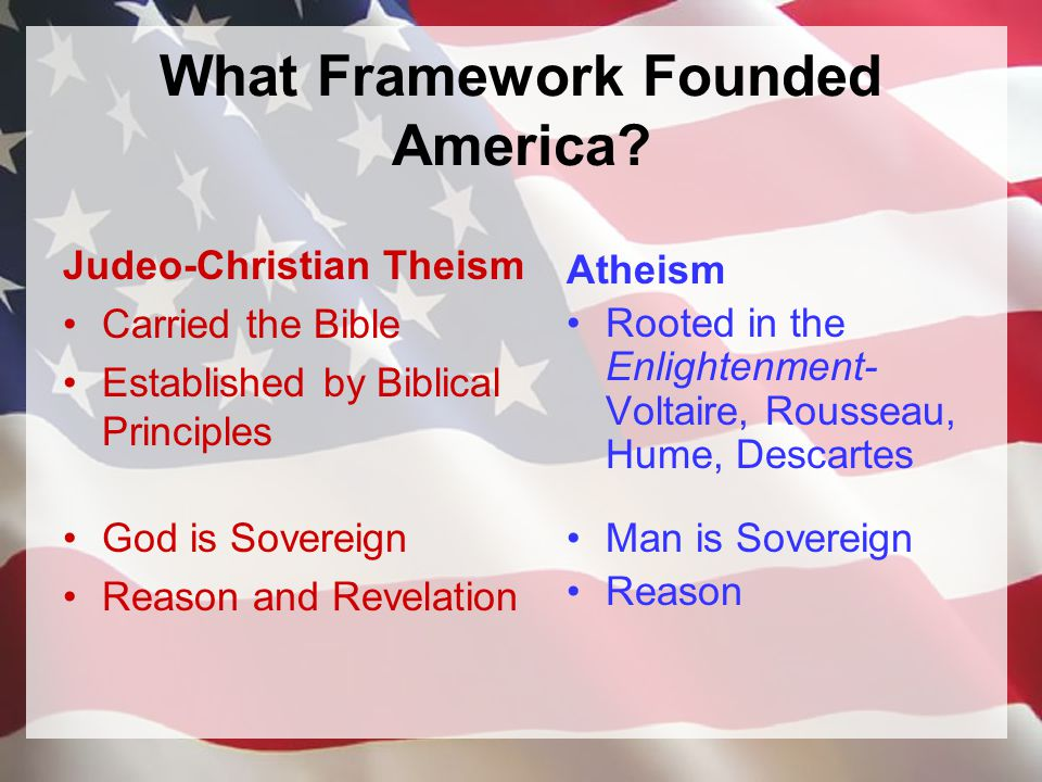 What Framework Founded America.