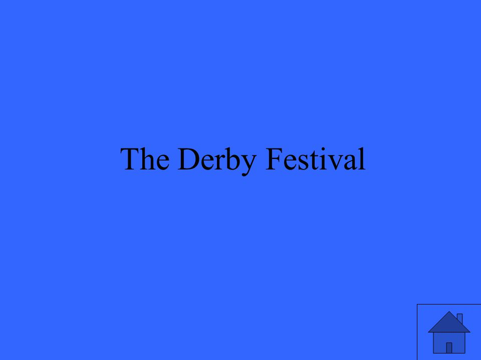 35 The Derby Festival