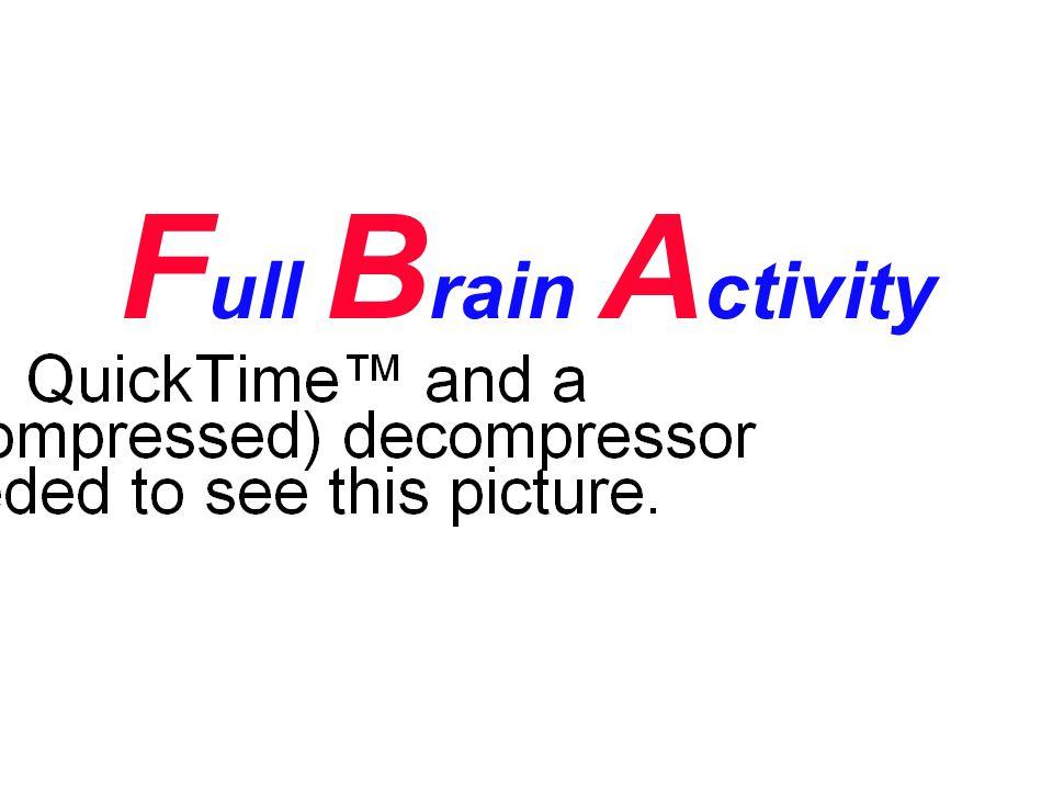F ull B rain A ctivity