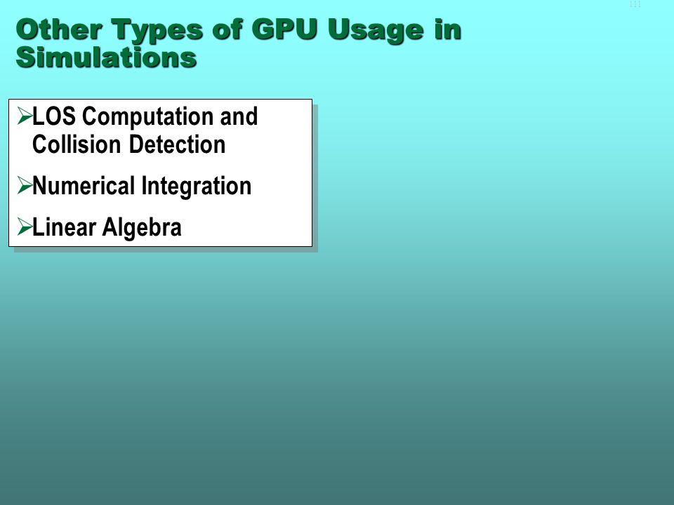 110Performance Over 100× speedup with MPI+CUDA Speedup relative to naïve method with no latency-hiding