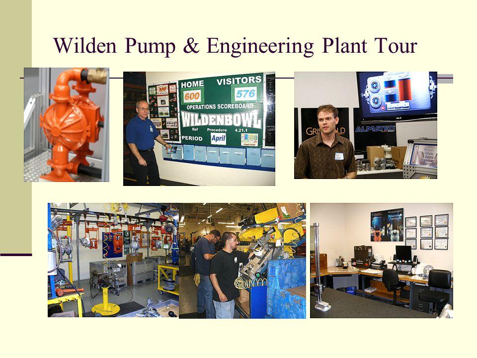 Wilden Pump & Engineering Plant Tour