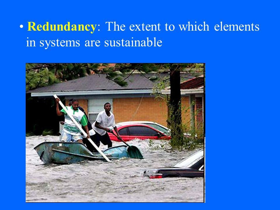 Resourcefulness: Capacity to mobilize needed resources Rapidity: Speed with which disruption can be overcome and service, income, etc.