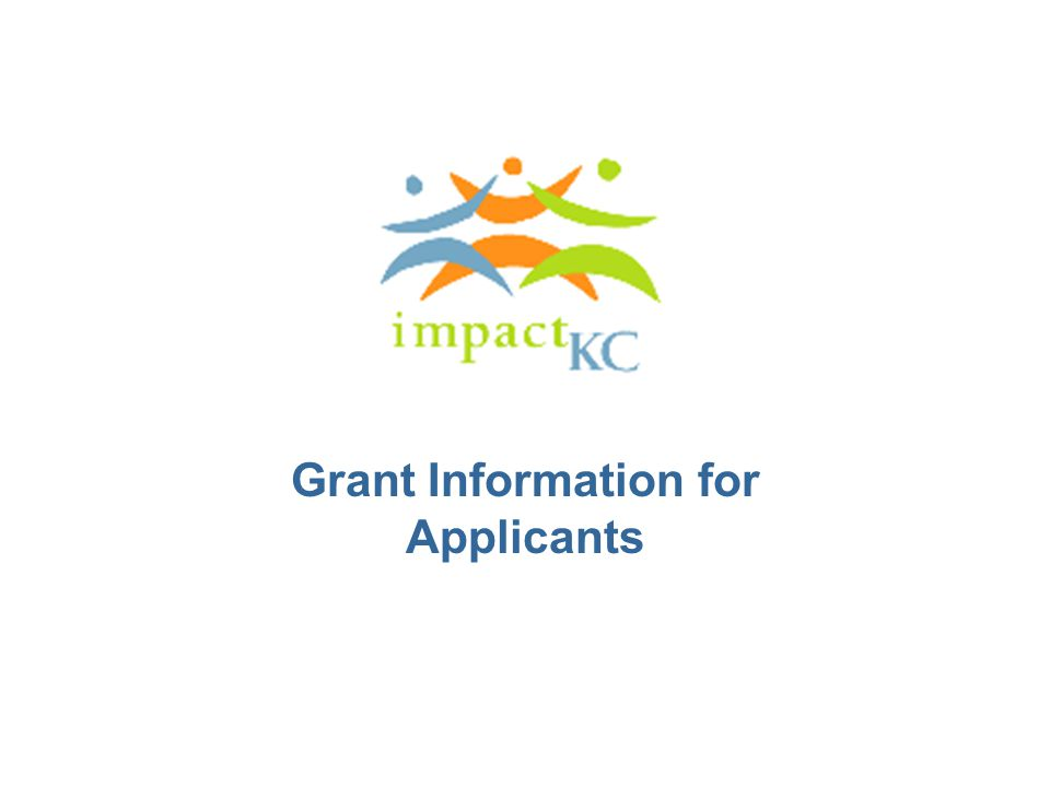 Grant Information for Applicants