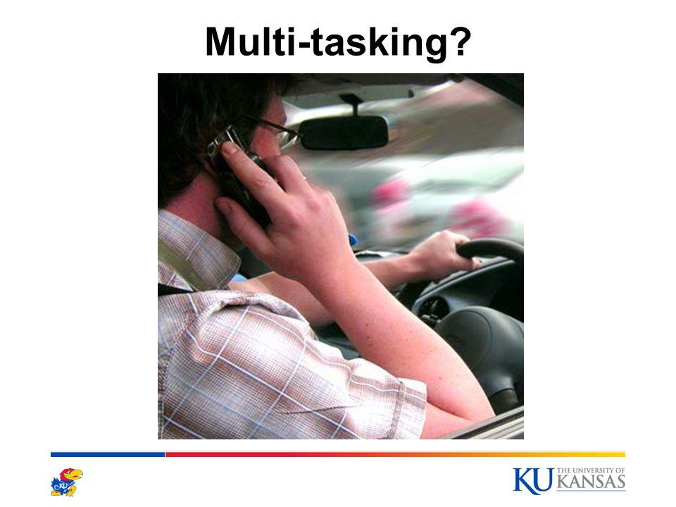 Multi-tasking? 10