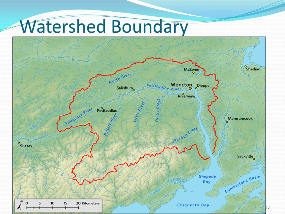 Watershed Boundary 17