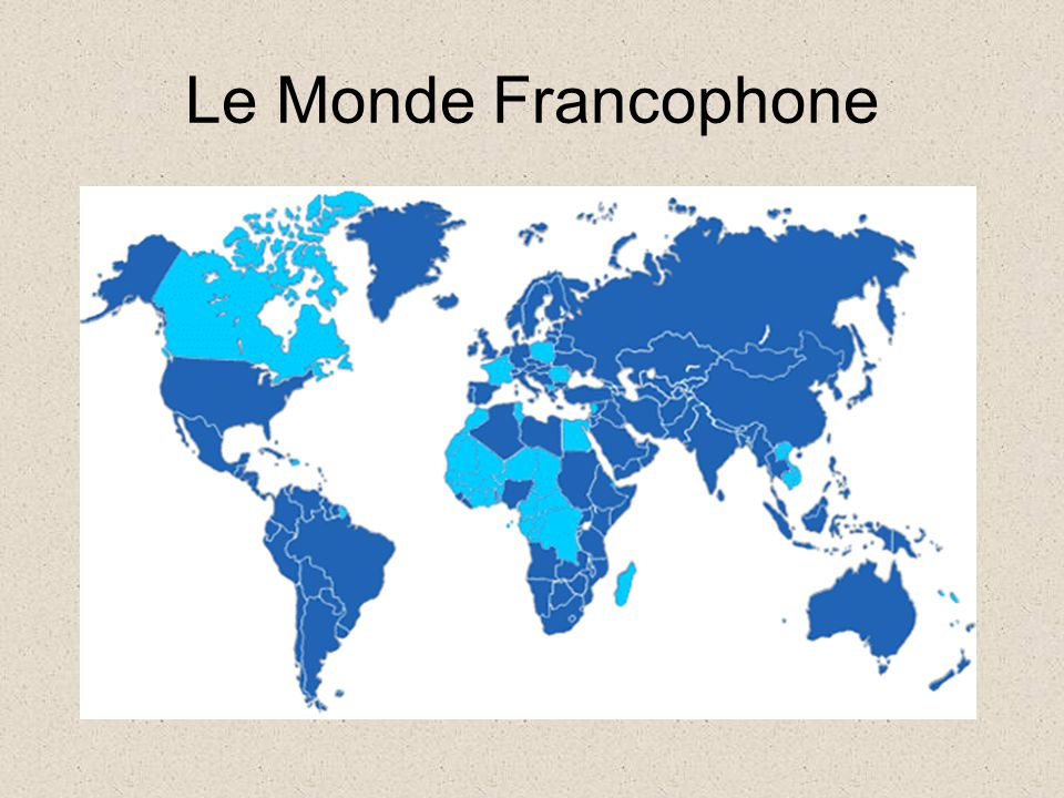 French and Your Career Science and Technology French is the second language of the internet (after English).