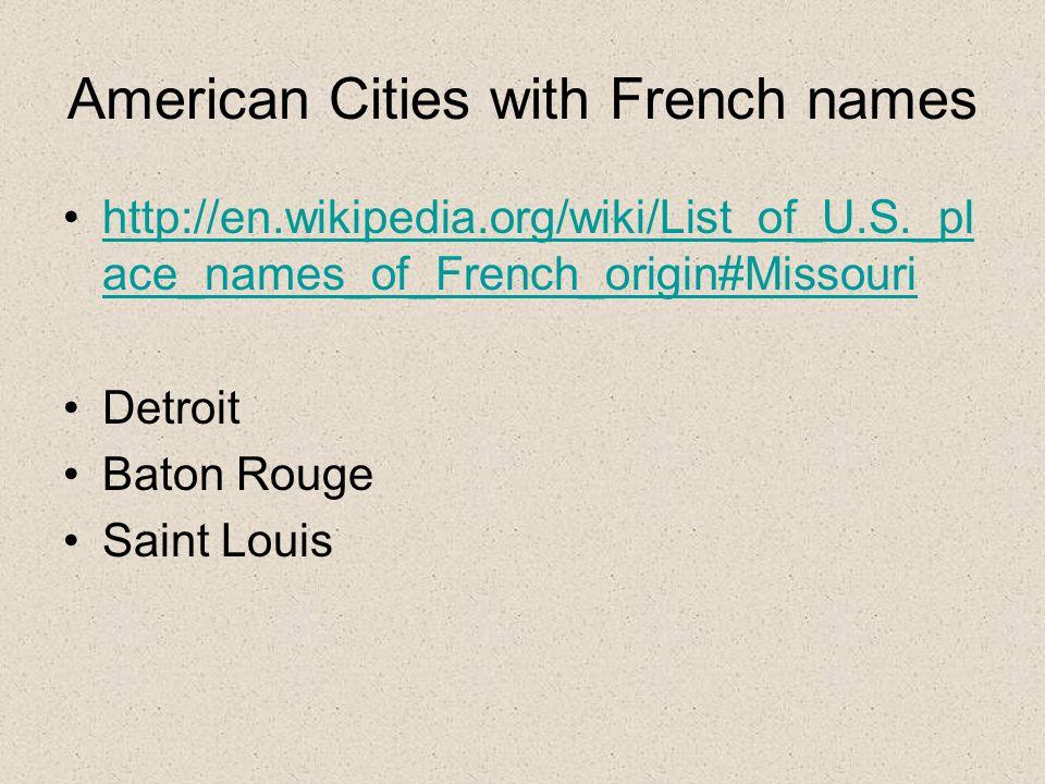 Les exploreurs français LaSalle, Marquette, Joliet, Cartier, Champlain